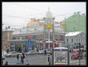 Макдоналдс на Василеостровской