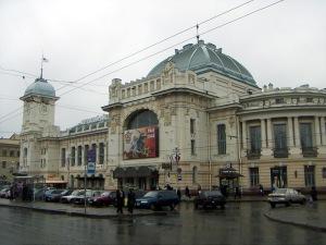 Витебский вокзал в Санкт-Петербурге