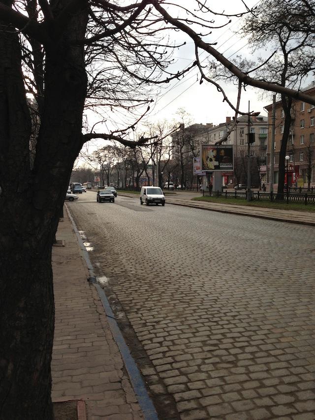 Улица Днепропетровска
