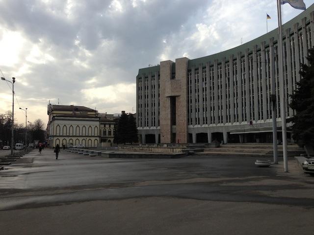 Здание в Днепропетровске