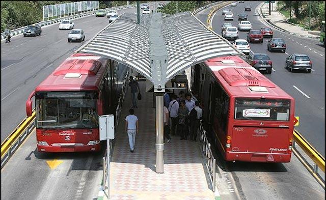 Tehran bus transit system
