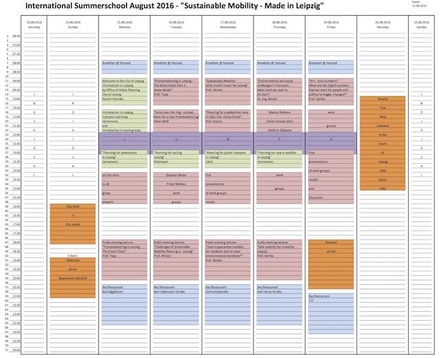 International Summerschool Leipzig 2016 detailed 20160812